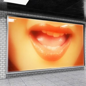 The Lips 11 – Johnathan Kell Poster Premium Brillant 20x30cm